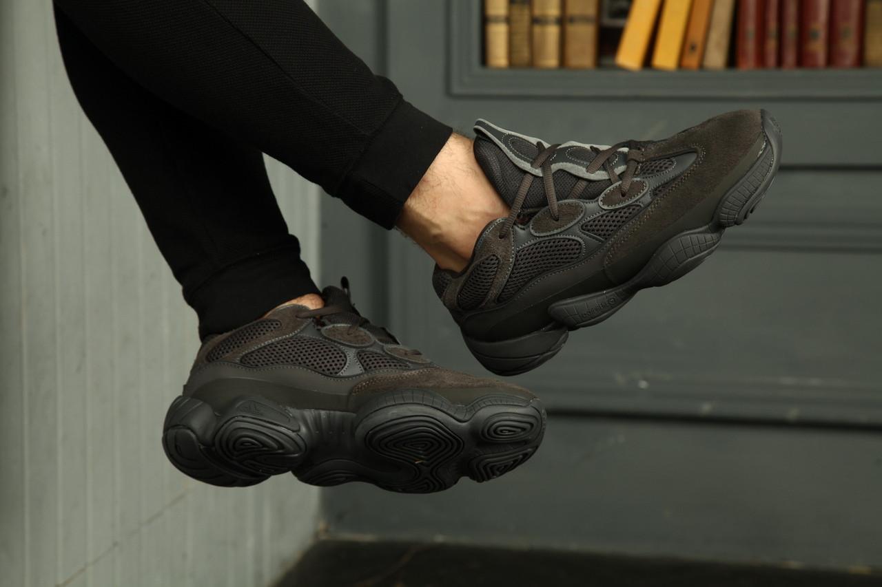 buy cheap a3c52 a8ab8 Мужские кроссовки Adidas YEEZY 500 Utility Black