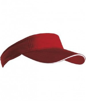 Модный бордовый козырек солнцезащитный для головы