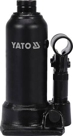 Бутылочный домкрат 2 тонны YATO YT-17015, фото 2