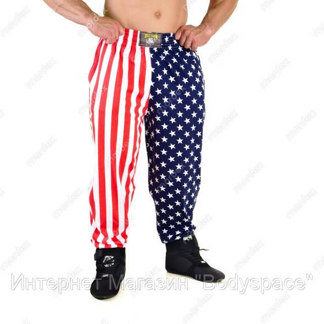 Big Sam, Штаны спортивные American Flag Baggy Track Body Pants 827