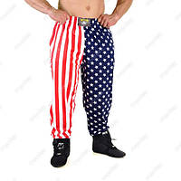 Big Sam, Штаны спортивные American Flag Baggy Track Body Pants 827, фото 1