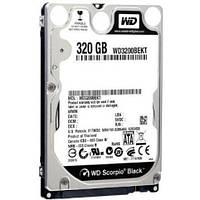"Жесткий диск 320GB Western Digital Scorpio Black 7200rpm 16MB 2.5"" SATA II (9mm)(WD3200BEKT), б/у"