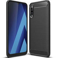 Бампер для Samsung Galaxy A70 2019 (A705) Carbon