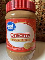 Арахисовая паста кремовая Great Value Creamy, фото 1
