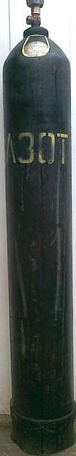 Азот газообразный 40л.