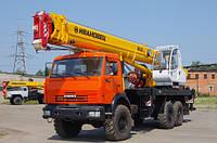 Аренда автокрана 25 тонн - стрела 28 метров