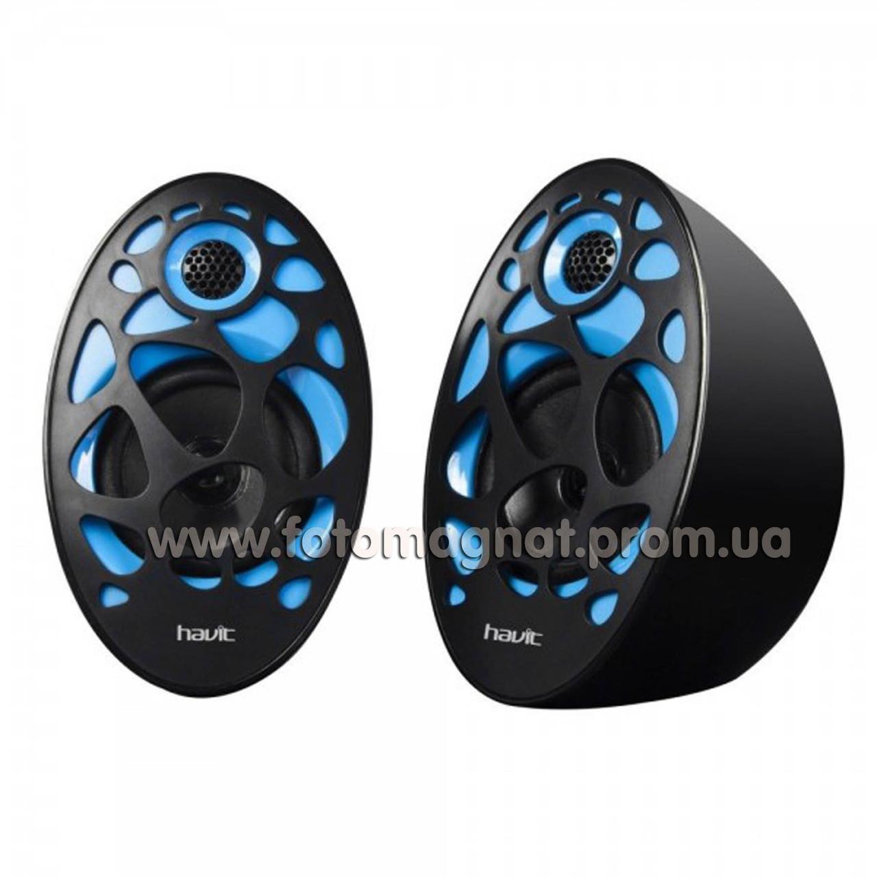 Колонки мини компьютерные   HAVIT HV-SK 455 blue