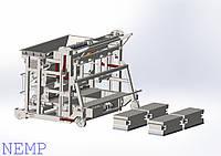 Установка по производству  блоков с утеплителем - УПБ-ТМ