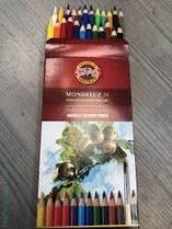 Акварельные карандаши 24 цвета K-i-N Mondeluz 3718024001