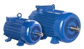 Электродвигатель MTH 011-6 (MTH011-6) 1.4кВт/890об.мин. крановый с фазным ротором