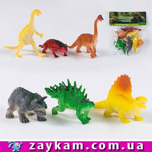 Набір динозаврів 303-59 6 шт. кул.