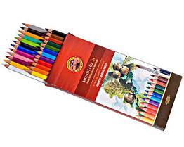 Карандаши акварельные 36 цвета K-i-N Mondeluz 3719036001