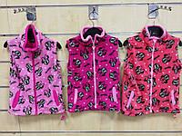 Безрукавки флисовые для девочек оптом, Disney, 98-134 рр., арт. 82582