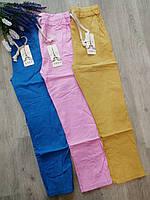 Штаны молодежные укороченные цветные