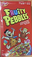 Сухой завтрак Fruity Pebbles маленькие цветные хрустящие хлопья