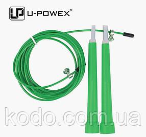 Скоростная скакалка на подшипниках (Система 2d вращения) кросфит Зеленый