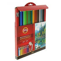 Карандаши акварельные 48 цветов Koh-i-noor Mondeluz 3713