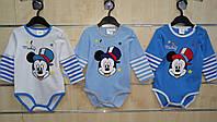 Бодик для мальчиков оптом, Disney ,68-86 см., арт. 91524