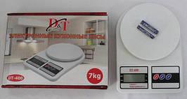 Кухонные весы электронные Domotec D&T 400 до 7 кг переносные весы