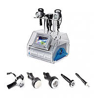Аппарат 5 в 1, RF лифтинг, 40кГц ультразвуковой, кавитационный, вакуумный массаж, Радио машина для похудения