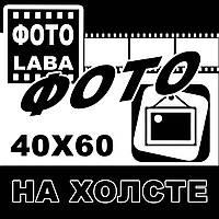 Печать на холсте 40х60