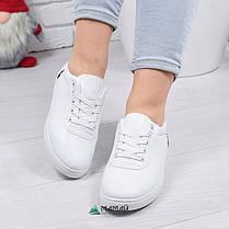 Кросівки жіночі в стилі Polo Ralph Lauren білі 36р, фото 3