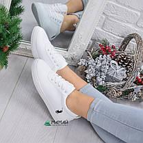 Кросівки жіночі в стилі Polo Ralph Lauren білі 36р, фото 2