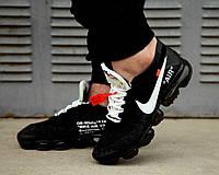 Мужские кроссовки Nike Air VaporMax Flyknit (OFF-WHITE)