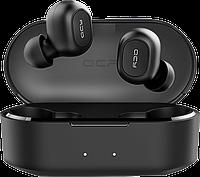 QCY T2C TWS, Bluetooth 5.0, 800 mAh, Стерео, Микрофон, Активное шумоподавление, Защита IPX4, фото 1