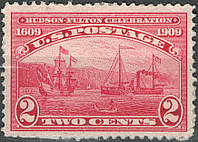 USA - Hudson-Fulton 1909. Пароплав