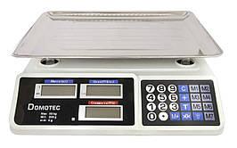 Весы торговые до 55 кг DOMOTEC DT 809 настольные элеткронные