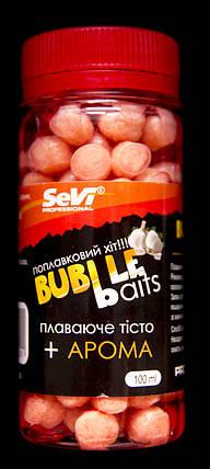 """Плавающее тесто в дипе Buble Baits """"Чеснок"""" 100ml, фото 2"""
