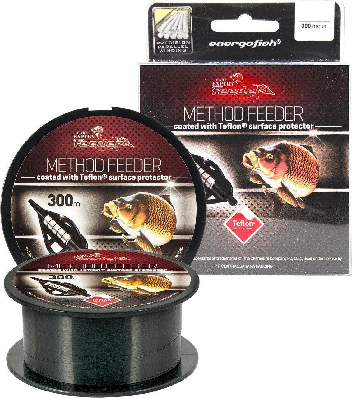 Леска Carp Expert Method Feeder Teflon Coated Black 300m 0.28mm