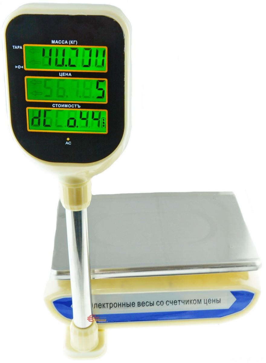 Електронні ваги з лічильником ціни торгові Promotec PM 5052