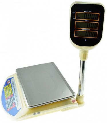Електронні ваги з лічильником ціни торгові Promotec PM 5052, фото 2