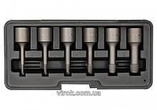 Видалювачі зломаних гвинтів YATO Ø= 2; 3; 4; 6; 8; 10 мм, 6 шт. [50] YT-0623