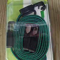 Резинка багажная плоская с крючком 1.2м. 2 шт., фото 1