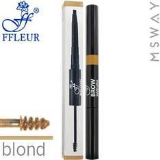 Ffleur - Моделирующая тушь+карандаш для бровей Brow Sculpt BME-17 Тон Blond