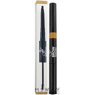 Ffleur - Моделирующая тушь+карандаш для бровей Brow Sculpt BME-17 Тон Blond, фото 2