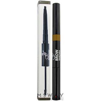 Ffleur - Моделирующая тушь+карандаш для бровей Brow Sculpt BME-17 Тон Medium, фото 2