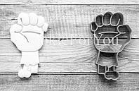 Формочка-вырубка для пряников + штамп  Набор Хэллоуин №2 - Руку зомби