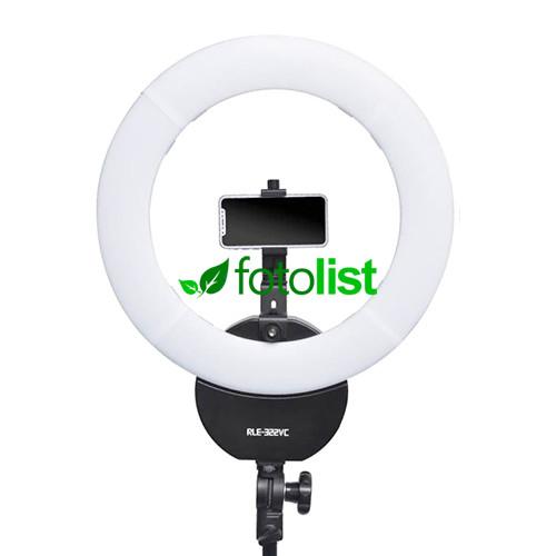 Кольцевой диодный свет Linkstar RLE-322VC+TMB20Z LED 32W, 3200-5600К, Ø420мм