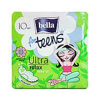 Гигиенические прокладки Bella for teens Ultra relax (4 к.) - 10 шт.