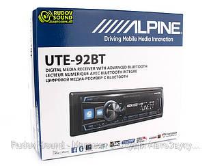 Автомагнітола Alpine UTE-92BT (USB|AUX|BT|6-RCA|DSP|3-Way)