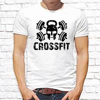 """Чоловіча футболка Push IT з принтом """"Crossfit"""""""
