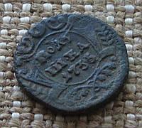 """Старинная монета """" Полушка"""" 1735г."""