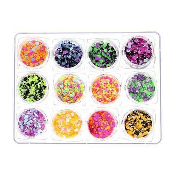 Декор для ногтей (комифибуки), Global Fashion 12 шт K134 K114
