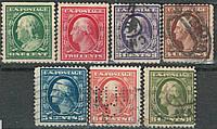 Jamestown Exposition. National Issue 1908 - 1909 Франклін