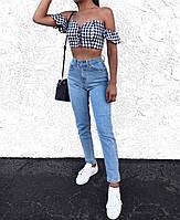 Стильные женские джинсы МОМ, фото 1