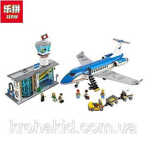 "Конструктор Lepin Lepin 02043 ""Пассажирский терминал в аэропорту"" (аналог Lego City 60104),, 718 дет, фото 2"